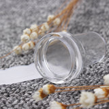 1Pc 2.4cm Clear Marshmallow Soft Silicone Head Stamping Tool