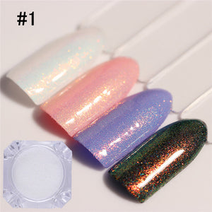 BORN PRETTY Chameleon 1.5g Mermaid Nail Powder Manicure Chrome