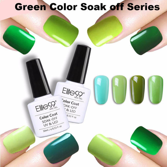 Love Green Soak Off Series Gel Polish