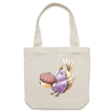 Bird Canvas Tote Bag