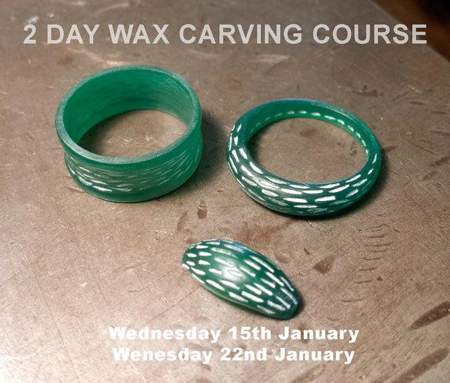 2 Day Wax Carving Jewellery Course