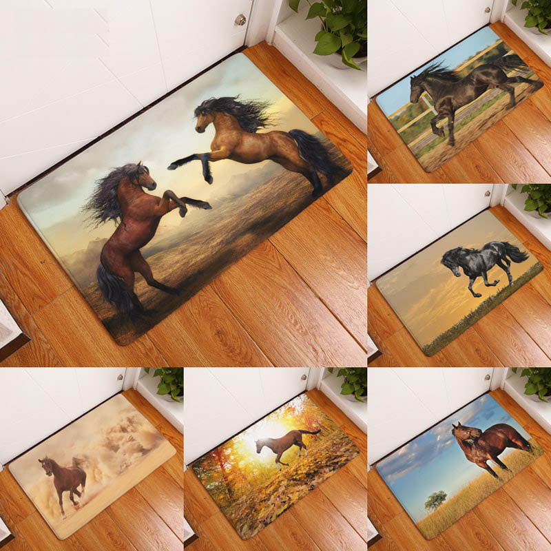 Waterproof Horse Door Mat; Waterproof Horse Door Mat ...