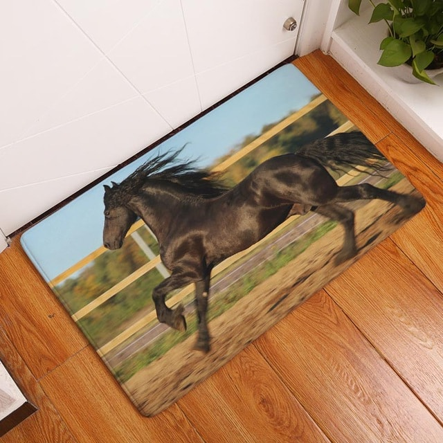 ... Waterproof Horse Door Mat ...