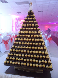 Ferrero Rocher Tower for up to 100