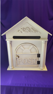 Wooden Post Box Hire