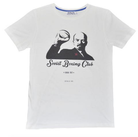Battling Joe -  T-shirt - Soviet Boxing Club - made in france