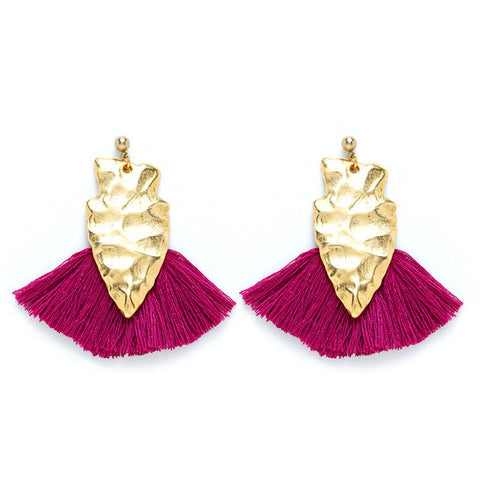 Charly James - Boucles d'oreilles - Alice Amarante - made in france