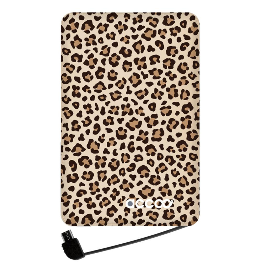 Chargeur Accoo - Medium - Leopard