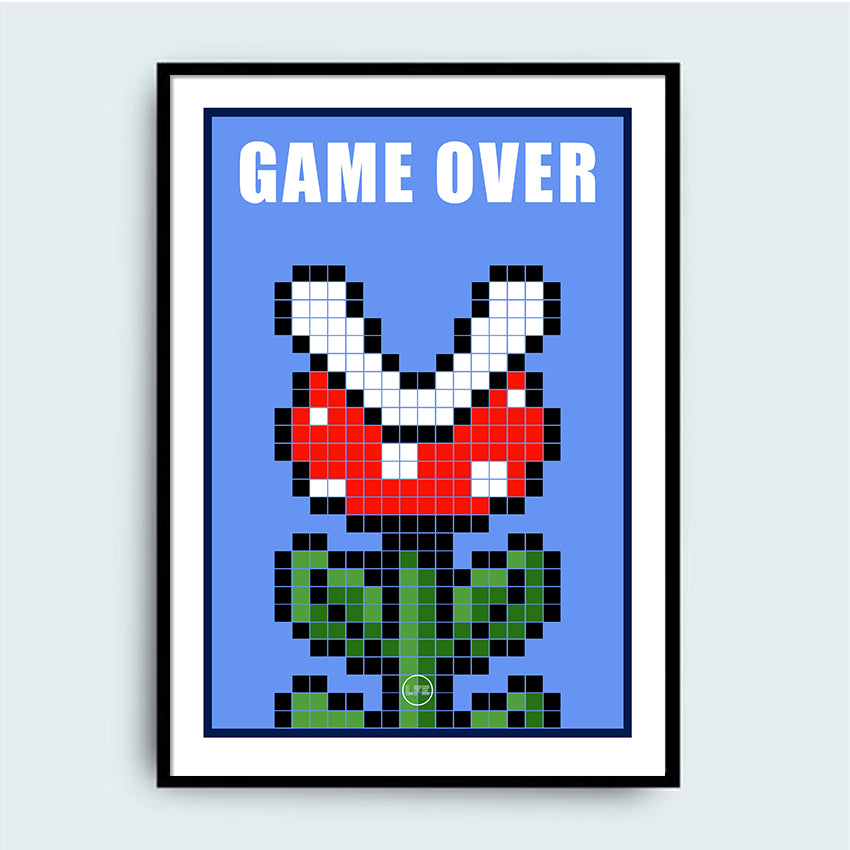 LFE - Affiche - Game Over