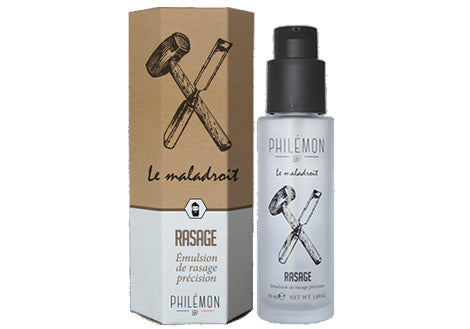 Philémon 1889 - Emulsion de rasage Le Maladroit