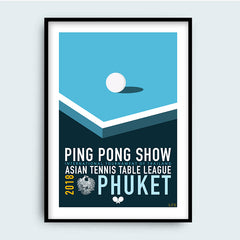 LFE - Affiche - Ping Pong Show