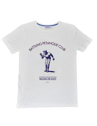 Battling Joe -  T-shirt - Pétanque Club de France - made in france