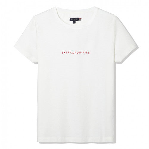 Gentle Factory - T-shirt blanc ExtraOrdinaire