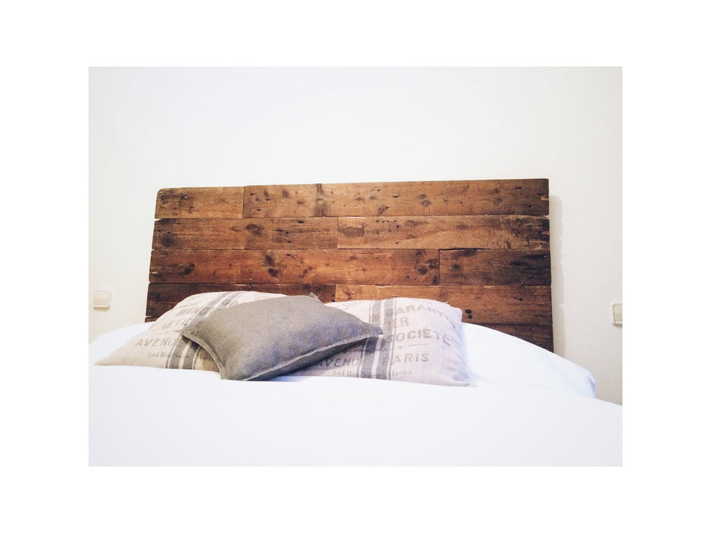 Reclaimed Wood Headboard Mulet