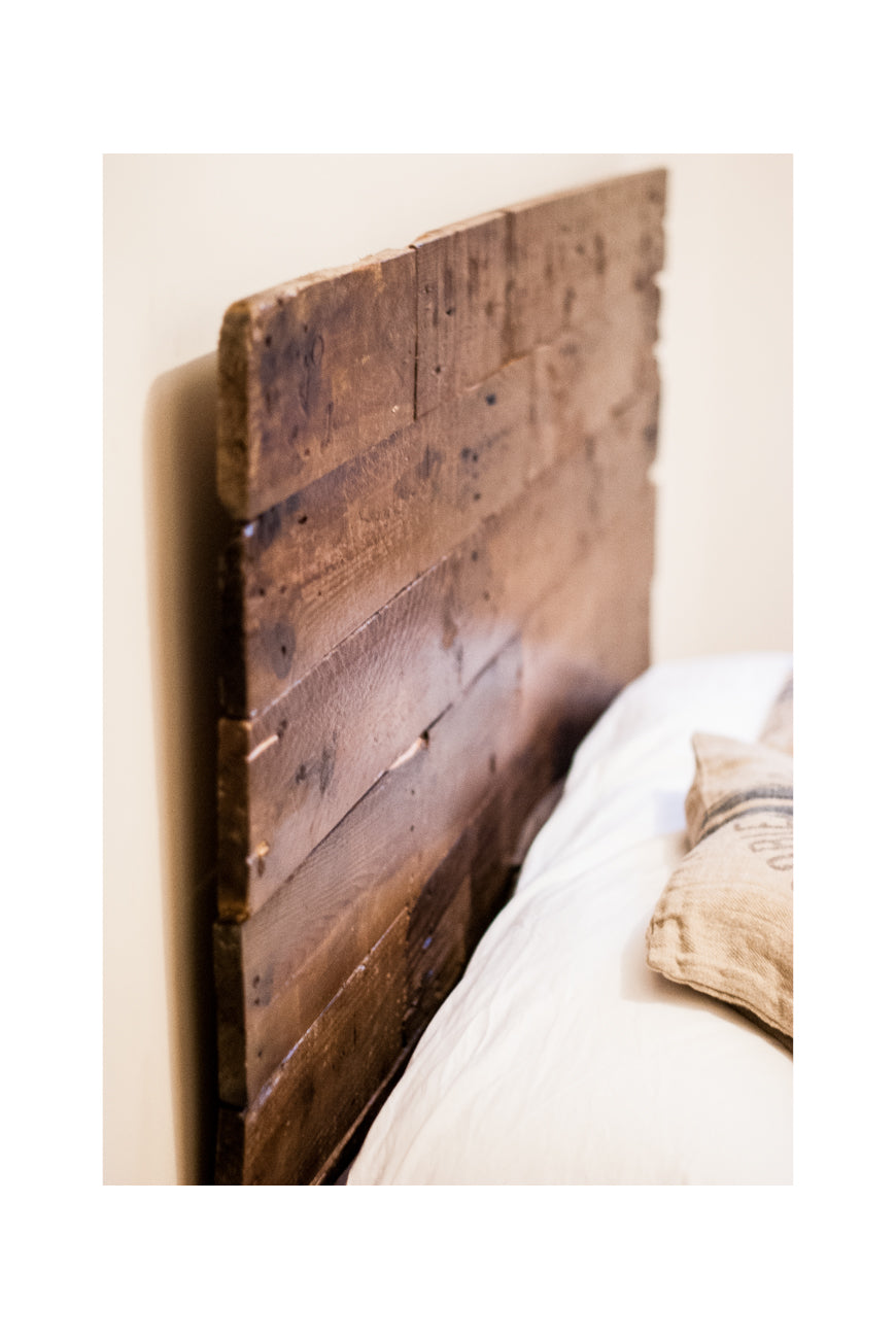 Palet Wood Headboard