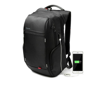 Travel USB Charger Laptop Backpack