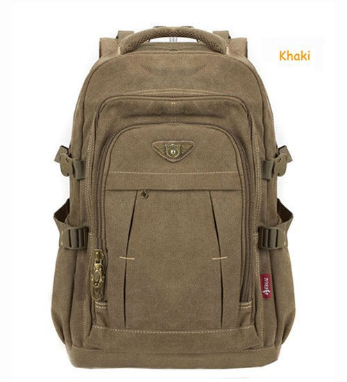 Rugged Rucksack Canvas Backpack