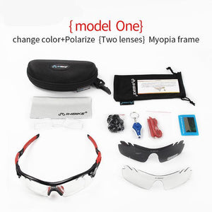 Polarized Cycling Sport Bicycle Sunglasses