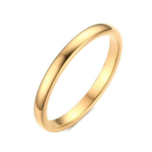 Gold Silver Tungsten  Wedding Rings