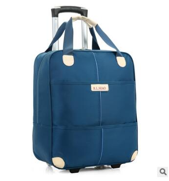 Travel Duffle Trolley Bag