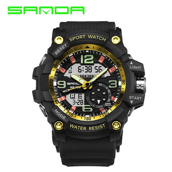 Digital Military G-Shock Type Sports Watch
