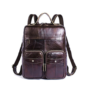 Vintage Stylish Leather Backpack