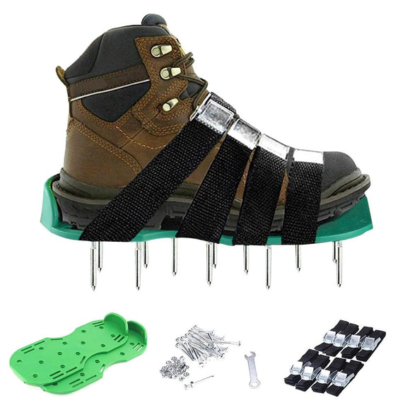 Lawn Aerator Spikes Shoes