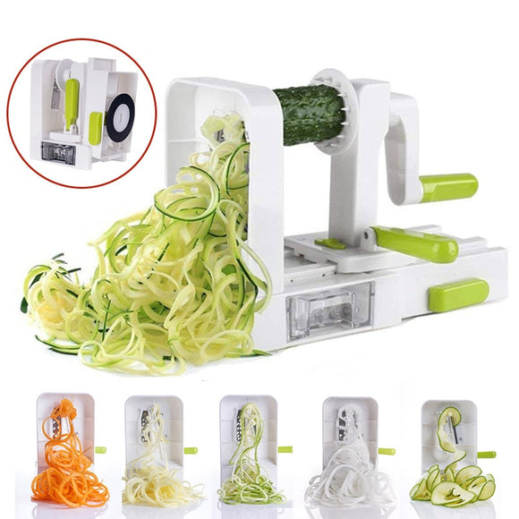 Kitchen Vegetables Spiral Rotator Slicer
