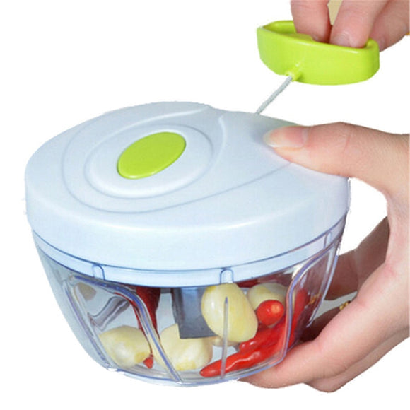 Speed Fruit-Vegetable Twist Grinder Shredder