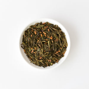 Hojicha with Roasted Brown Rice