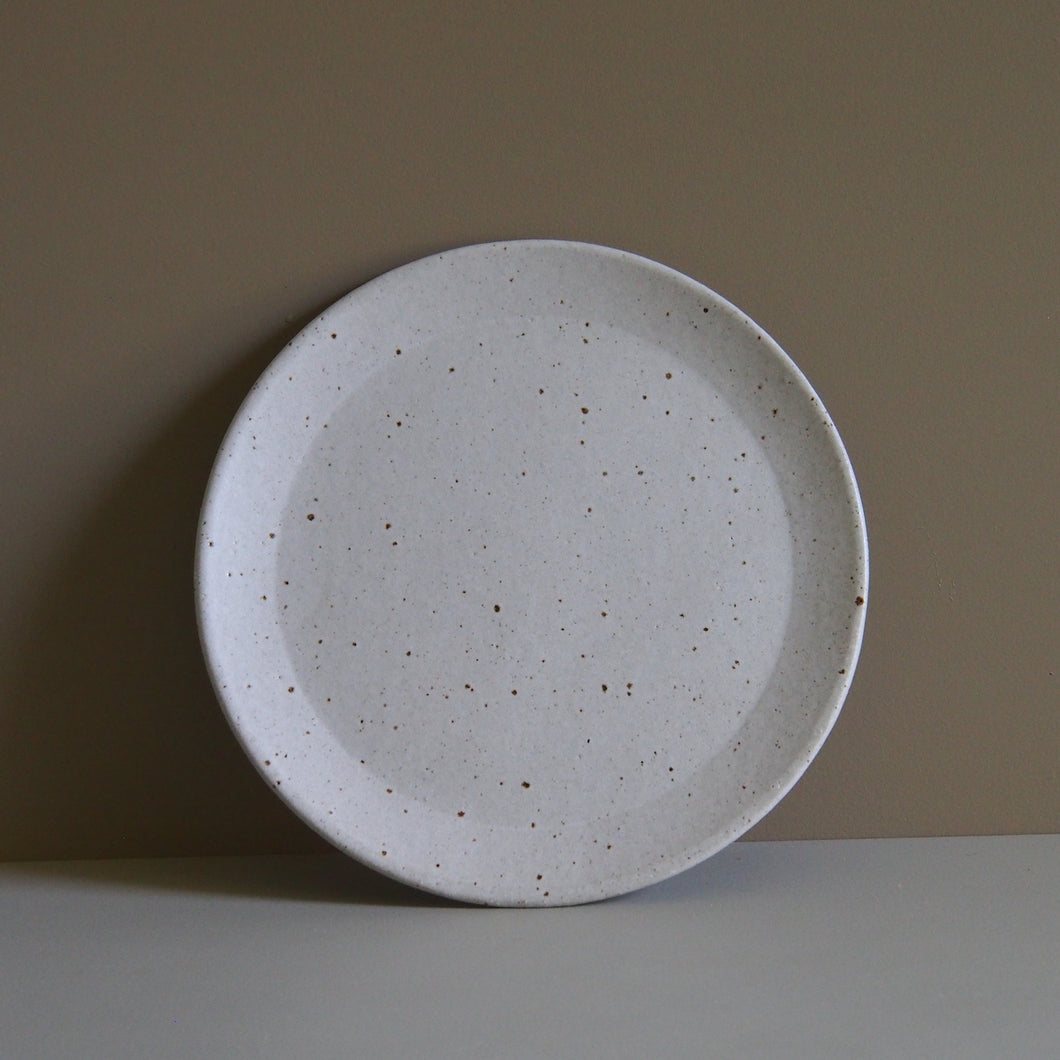 Salad Plate with Foot