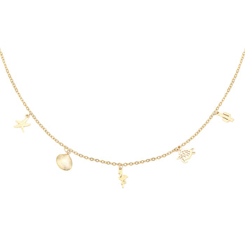 Yehwang ketting animal farm goud 0215676-108