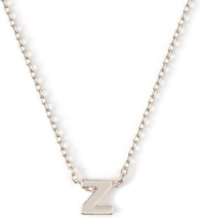 Orelia Ketting zilver plating Letter-Z