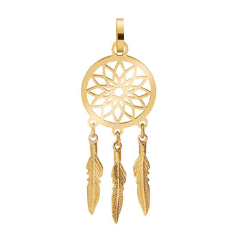 iXXXi Pendant Dream Catcher C1210 Goud, Rosé, Zilver, Zwart, Bruin (25MM)