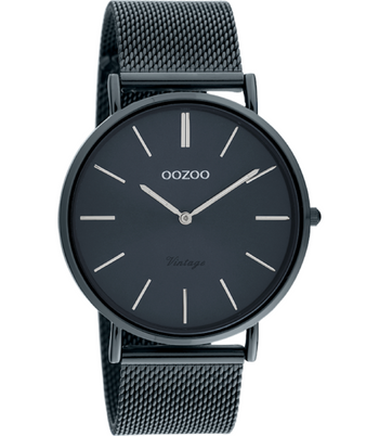 Oozoo Dames horloge-C20003 night blue (38mm)