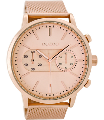 Oozoo Dames horloge-C9073 rose (51mm)