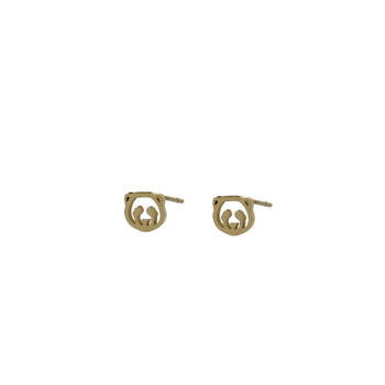 GO Dutch Label oorsteker Panda E0764 in het goud of zilver