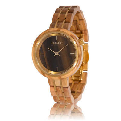 HOT&TOT | Houten horloge | AVALON | 36mm