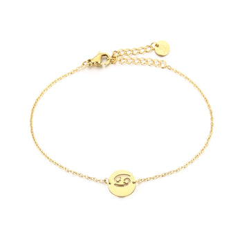 Michelle Bijoux Armband Cancer - Kreeft Goud of zilver