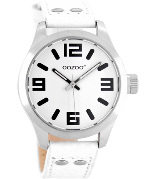 Oozoo Junior Horloge JR150 wit (40mm)