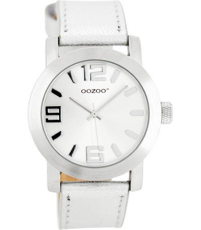 Oozoo Junior Horloge JR200 zilver (38mm