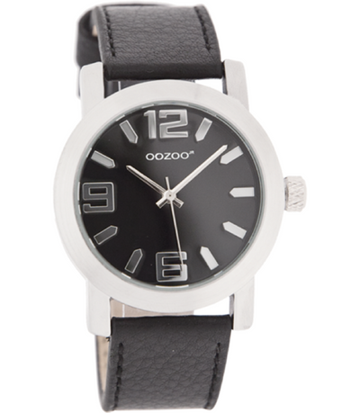 Oozoo Junior Horloge JR204 zwart (38mm)