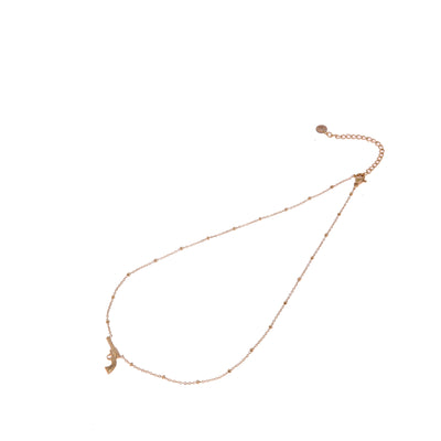 GO Dutch Label ketting pistool N0845 in het goud of zilver