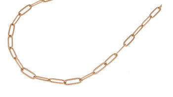 GO Dutch Label ketting heavy chain N0887 in het goud of zilver