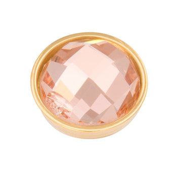 iXXXi invulring Top Part-Pyramid Champagned R05019 Goud, Rosé, Zilver, Zwart (7MM)