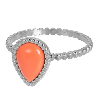 iXXXi invulring Magic Coral R05906 Goud, Zilver, Rosé  (2MM)