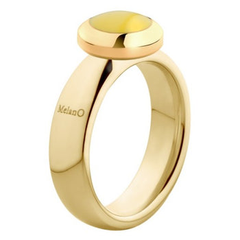 Melan0 Vivid ring 9010 6mm Vicky goud (48-64MM)