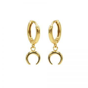 Karma hinged hoops symbool round tube M1918HIN