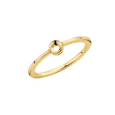 Melano Twisted Ring Petite TR15 Goud