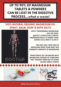 Magnesium Oil verses Tablets & Powders